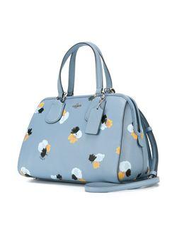 Print Tote Bag COACH                                                                                                              синий цвет