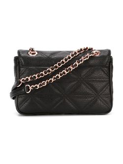 Sharlenemania Chain Strap Flap Bag Vivienne Westwood                                                                                                              чёрный цвет
