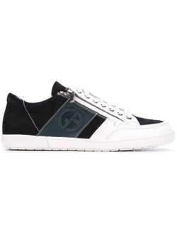 Side Zip Sneakers Giorgio Armani                                                                                                              синий цвет