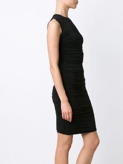 Wrinkled Dress The Row                                                                                                              черный цвет