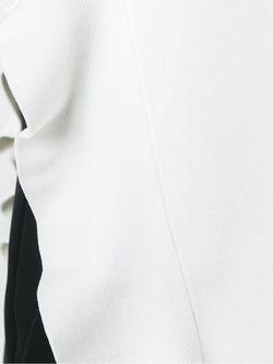 Асимметричный Топ С Рюшами Proenza Schouler                                                                                                              белый цвет