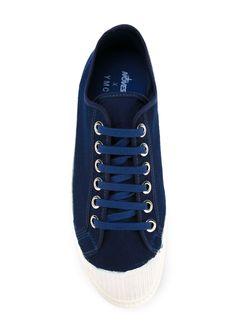 Джинсовые Кеды YMC                                                                                                              синий цвет