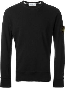 Crew Neck Sweatshirt Stone Island                                                                                                              чёрный цвет