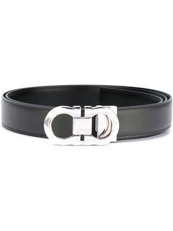 Gancini Buckle Belt Salvatore Ferragamo                                                                                                              серый цвет