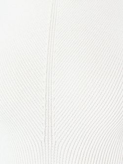 Knitted Flared Dress Victoria Beckham                                                                                                              белый цвет