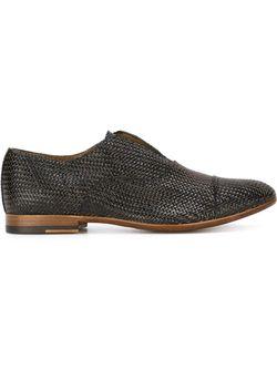 Woven Laceless Shoes Raparo                                                                                                              чёрный цвет