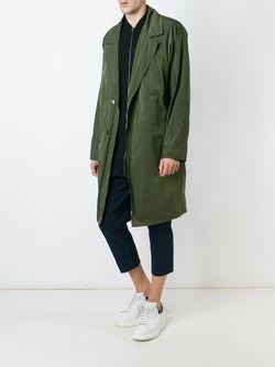 Oversized Coat SYSTEM HOMME                                                                                                              зелёный цвет