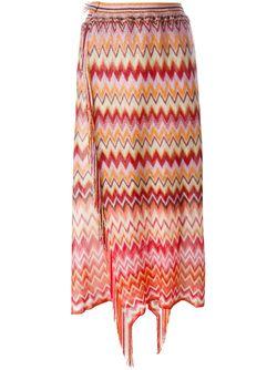 Zig Zag Knit Skirt Missoni                                                                                                              многоцветный цвет