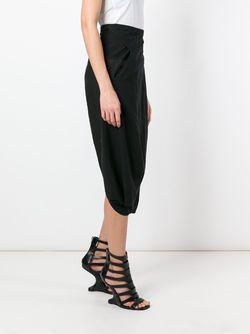 Cropped Sarouel Trousers ANDREA YA'AQOV                                                                                                              чёрный цвет
