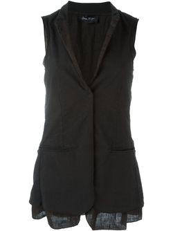 Sleeveless Blazer ANDREA YA'AQOV                                                                                                              черный цвет