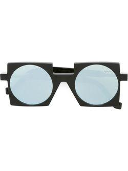 Солнцезащитные Очки С Квадратной Оправой VAVA                                                                                                              черный цвет