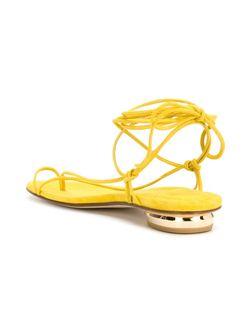 Nieta Flat Sandals Stuart Weitzman                                                                                                              желтый цвет