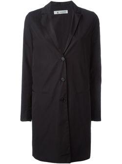 Classic Single Breasted Coat Barena                                                                                                              чёрный цвет