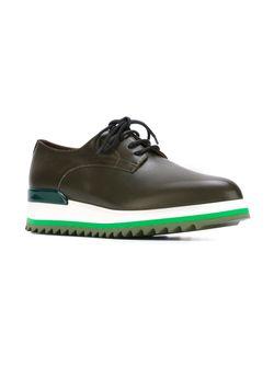 Туфли На Платформе A.F.Vandevorst                                                                                                              зелёный цвет
