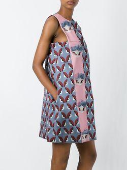 Платье Шифт Bag Bugs Fendi                                                                                                              серый цвет