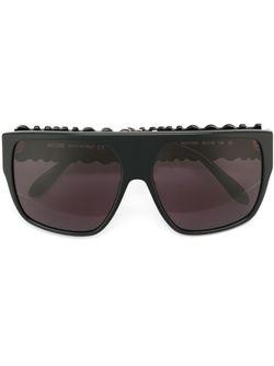 Солнцезащитные Очки С Логотипом Moschino                                                                                                              чёрный цвет