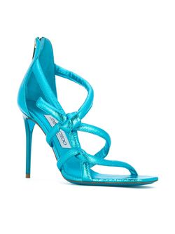 Knot Sandals Jimmy Choo                                                                                                              синий цвет