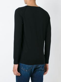 Raglan Sleeve Sweater Nuur                                                                                                              чёрный цвет