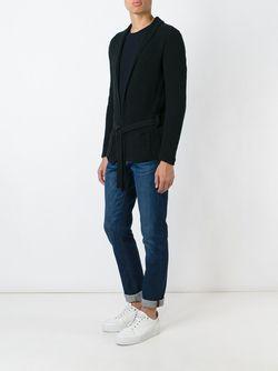 Belted Cardigan Nuur                                                                                                              чёрный цвет