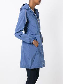 Hooded Raincoat Herno                                                                                                              синий цвет
