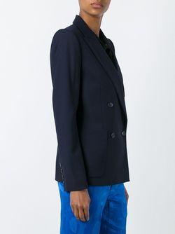 Двубортный Блейзер Isabel Marant                                                                                                              синий цвет