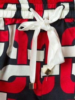 Пижамные Шорты С Геометрическим Принтом FOR RESTLESS SLEEPERS                                                                                                              красный цвет