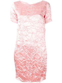 Creased Mini Dress Nina Ricci                                                                                                              розовый цвет