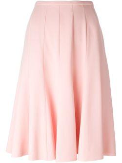 Плиссированная Юбка Ermanno Scervino                                                                                                              розовый цвет