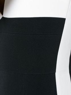 Приталенный Комбинезон С V-Образным Вырезом David Koma                                                                                                              черный цвет
