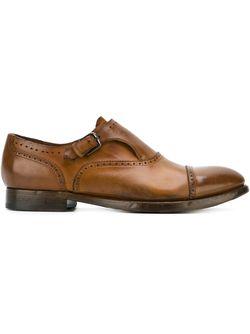 Туфли Монки Silvano Sassetti                                                                                                              коричневый цвет
