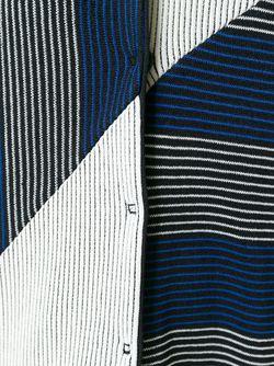 Полосатый Кардиган С Плиссировкой Antonio Marras                                                                                                              синий цвет