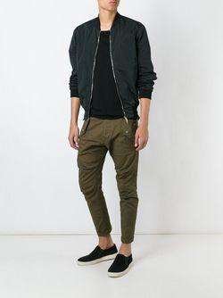 Классическая Куртка-Бомбер Dsquared2                                                                                                              черный цвет
