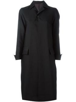Пальто На Пуговицах 08SIRCUS                                                                                                              черный цвет