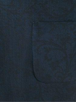 Свободная Футболка Fendi                                                                                                              синий цвет