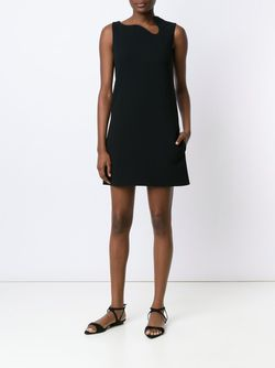 Irregular Neckline Dress Victoria Beckham                                                                                                              черный цвет