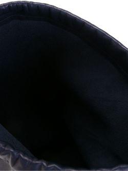 Large Drawstring Pouch ISAAC REINA                                                                                                              синий цвет