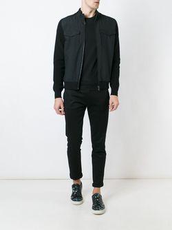 Front Pocket Bomber Jacket Ermenegildo Zegna                                                                                                              чёрный цвет