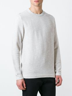 Long Sleeve Textured Long Fit Jumper Our Legacy                                                                                                              серый цвет