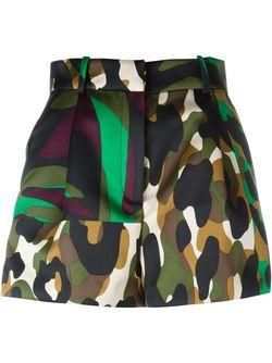 Camoupard Shorts Versace                                                                                                              многоцветный цвет