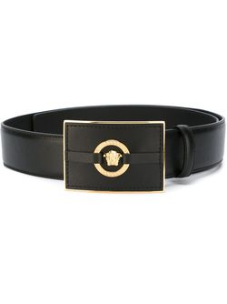 Medusa Rectangular Belt Versace                                                                                                              черный цвет
