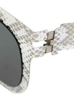 Солнцезащитные Очки X Maison Margiela Mykita                                                                                                              белый цвет