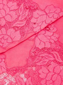 Шарф С Кружевными Панелями Valentino                                                                                                              розовый цвет