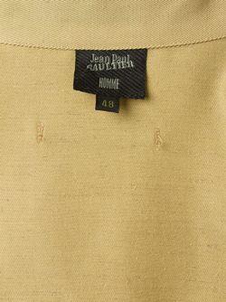 Tie Detail Military Shirt JEAN PAUL GAULTIER VINTAGE                                                                                                              зелёный цвет