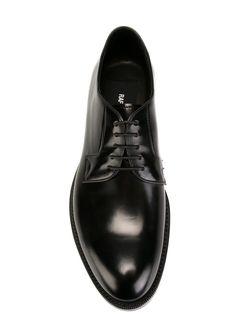 Классические Туфли На Шнуровке Raf Simons                                                                                                              черный цвет
