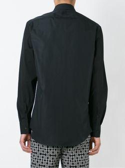 Рубашка С Молниями На Воротнике Neil Barrett                                                                                                              чёрный цвет