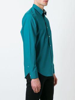 Классическая Рубашка Burberry Brit                                                                                                              синий цвет
