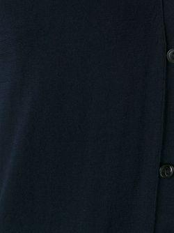 Кардиган C V-Образным Вырезом Roberto Collina                                                                                                              синий цвет