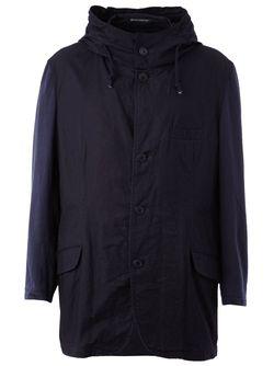 Куртка С Капюшоном Yohji Yamamoto                                                                                                              синий цвет