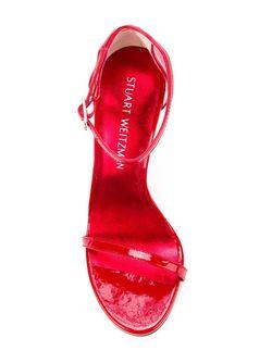 Босоножки На Шпильке Stuart Weitzman                                                                                                              красный цвет