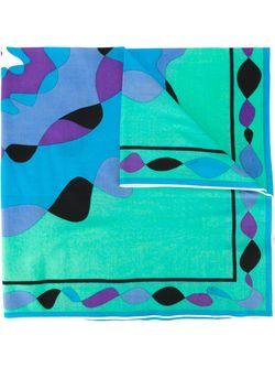 Платок С Абстрактным Принтом Emilio Pucci                                                                                                              многоцветный цвет